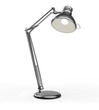 stolní lampa na pracovní stůl