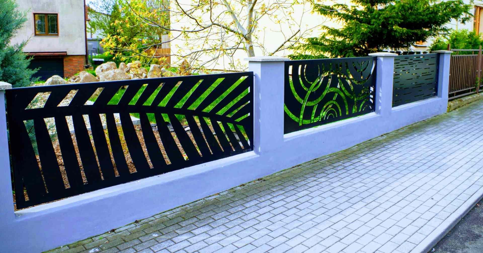 moderní plot