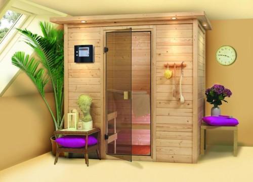 Finská sauna Karibu Sonja koupíte již od 33 000 Kč, zdroj: marimex.cz