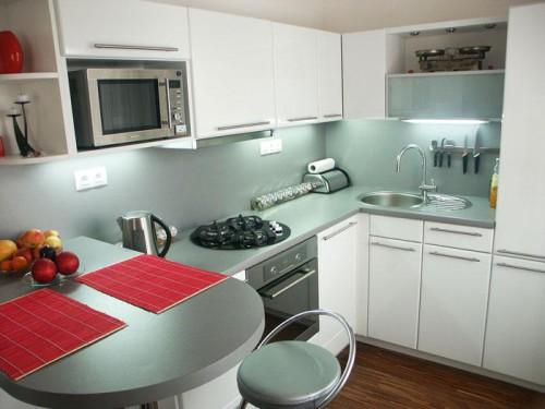 Kuchyni na míru nejvíce oceníte v malých bytech, zdroj: jninterier.cz