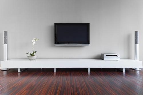 Minimalismus v obývacím pokoji, zdroj: shutterstock.com