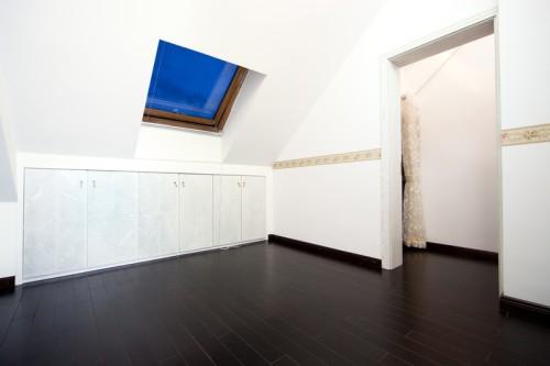 Podkrovní místnosti mají specifické požadavky na rozmístění, zdroj: shutterstock.com