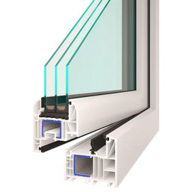 Plastové okno Sigma EVO se středním (trojitým) těsněním, zdroj: oknoplastik.cz