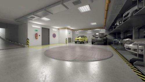 Podzemní garáže zvyšují atraktivitu projektu, zdroj: vinohradska-33.cz