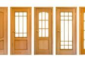 Různé typy prosklení interiérových dveří, zdroj: shutterstock.com