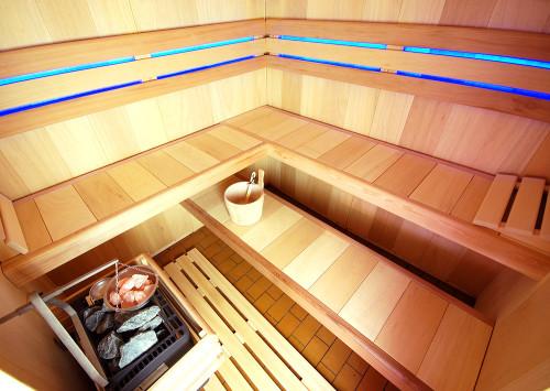 Moderní finská sauna, zdroj: saunasystem.cz