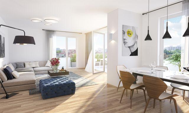 Moderní byty na Praze